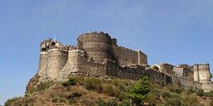 Concentric castle - Image: Marqab crusader castle donjon
