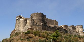 Margat - Image: Marqab crusader castle donjon