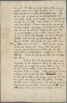 """Private letter in which Luther says Agricola is """"a liar"""". (Source: Wikimedia)"""