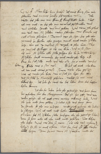"""Johannes Agricola - Private letter in which Luther says Agricola is """"a liar""""."""