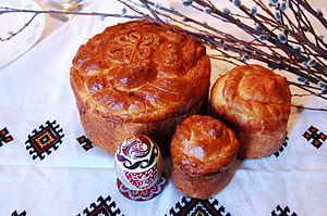 Ukrainian cuisine - Traditional Ukrainian paska