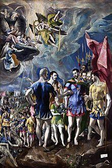 El Greco, Martirio di san Maurizio