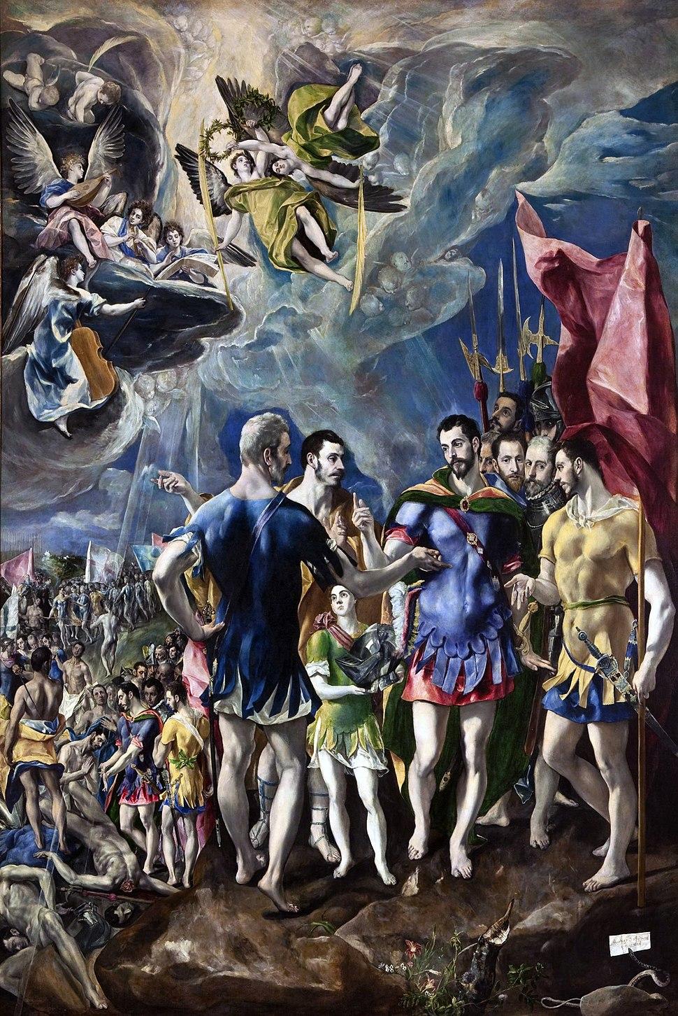 Martirio de San Mauricio El Greco