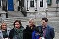 Mary Lou McDonald TD, Michelle O'Neill MLA & Matt Carthy MEP (46001062264).jpg
