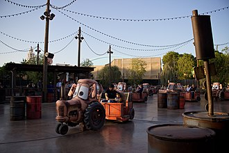 Cars Land - Mater's Junkyard Jamboree