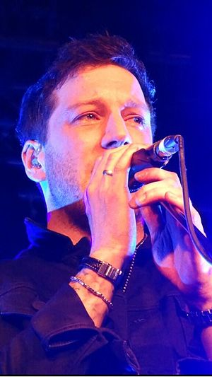 Matt Cardle - Matt Cardle performing in Belfast, April 2014.