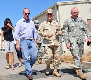 Matt Mead - Mead visiting Guantanamo Bay