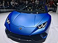 Matte Blue Lamborghini Huracan Performante Spyder (Ank Kumar) 08.jpg