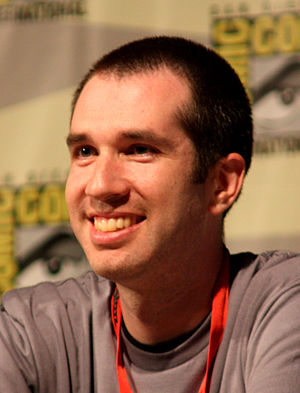 Matthew Senreich - Senreich at the San Diego Comic-Con International in 2009
