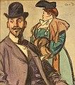 Maxime Dethomas - Homme au melon et femme à la manchette (c.1905).jpg