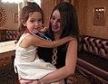 Maya and babysitter.jpg
