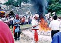 Mayan priests dancing around fire.jpg