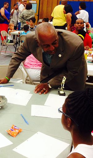 Eric Jackson (mayor) - Image: Mayor Jackson 7414