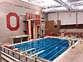 McCorkle Aquatic Pavilion, diving platforms, at the Ohio State University.JPG