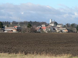 Medlov (Olomouc District) - Image: Medlov Obec