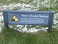 Meg's Mount Bastion sign, city walls, Berwick - geograph.org.uk - 741394.jpg