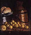 Meléndez, Luis - Still Life with Fruits and Cooking Utensils - Google Art Project.jpg