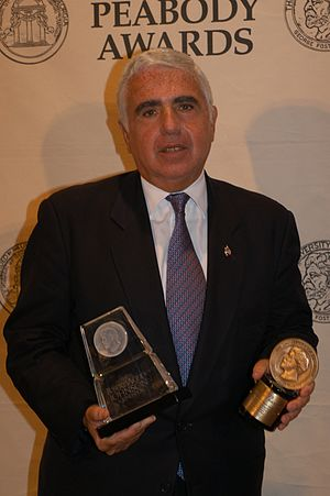 Mel Karmazin - Mel Karmazin with a Peabody Award in May 2004