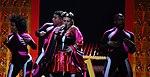 Melodifestivalen 2019, deltävling 1, Scandinavium, Göteborg, programledarna, 17.jpg