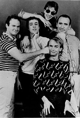 Men at Work in 1983