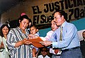 Menem refrenda convenios del Programa Alimentario Nacional Infantil 02.jpg