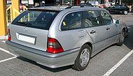 Mercedes W202 T-Model rear 20071009.jpg