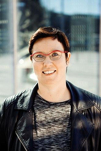 Finnish presidential election, 2018 - Merja Kyllönen