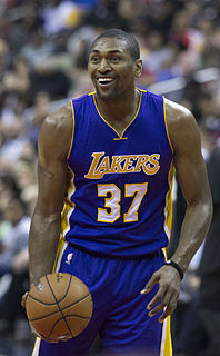 Metta Sandiford-Artest American basketball player