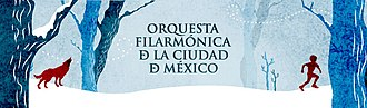 Mexico City Philharmonic Orchestra - April 28, 2013, program featuring Peter and the Wolf