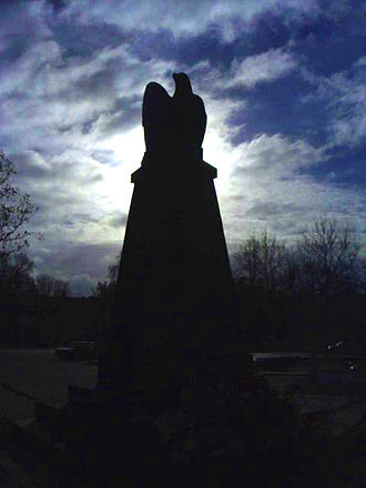 Międzyrzec Podlaski - Monument to victims of 1918 German massacre in Międzyrzec during liberation of Poland in World War I