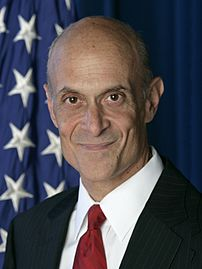 Michael Chertoff, United States Secretary of Homeland Security.