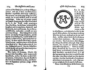Nathaniel Hodges - Pages from the 1656 translation of Aurea Themis of Michael Maier.
