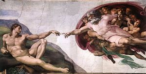 Michelangelo, Creation of Adam 01.jpg