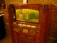 photo : Jukebox Wurlitzer
