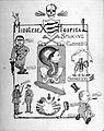 Middlesex Hospital, London; souvenir of smoking concert, 15 Wellcome L0027808.jpg