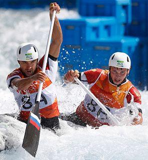 Mikhail Kuznetsov (canoeist) Russian slalom canoeist