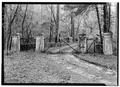 Milford Plantation, Entrance Gateway, Wedgefield-Rimini Road, Pinewood, Sumter County, SC HABS SC,43-PINWO.V,1B-1.tif