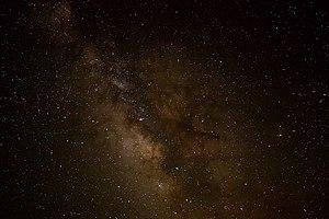 Άποψη του γαλαξία μας από τη Γη.