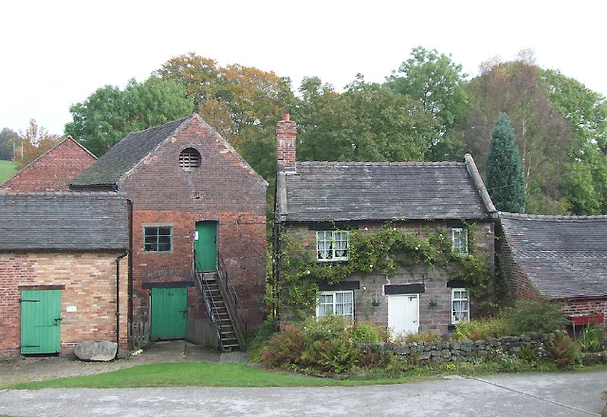 Mill Buildings at Cheddleton, Staffordshire - geograph.org.uk - 589611.jpg