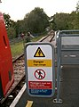 Mill Hill East buffer stops-Edgware no more.JPG