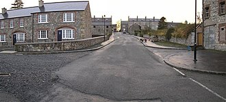 Caledon, County Tyrone - Image: Mill Street ,Caledon