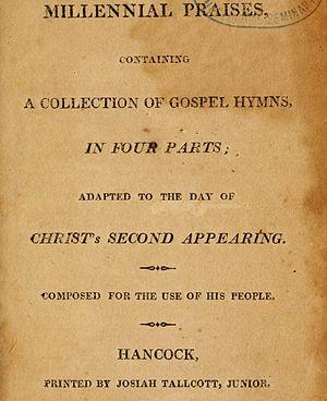 Millennial Praises - Millennial Praises 1813 title page