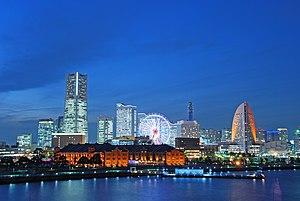 Jokohama: Minato Mirai In Blue