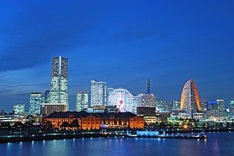 Hamatora - The series takes place in Yokohama.