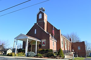 Minford, Ohio - Methodist church
