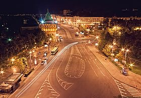 Minin and Pozharsky Square at night.jpg