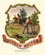 Minnesota state coat of arms (illustrated, 1876).jpg
