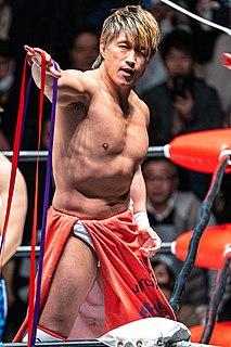 Minoru Tanaka (wrestler) Japanese professional wrestler (born 1972)