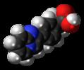 Miroprofen molecule spacefill.png