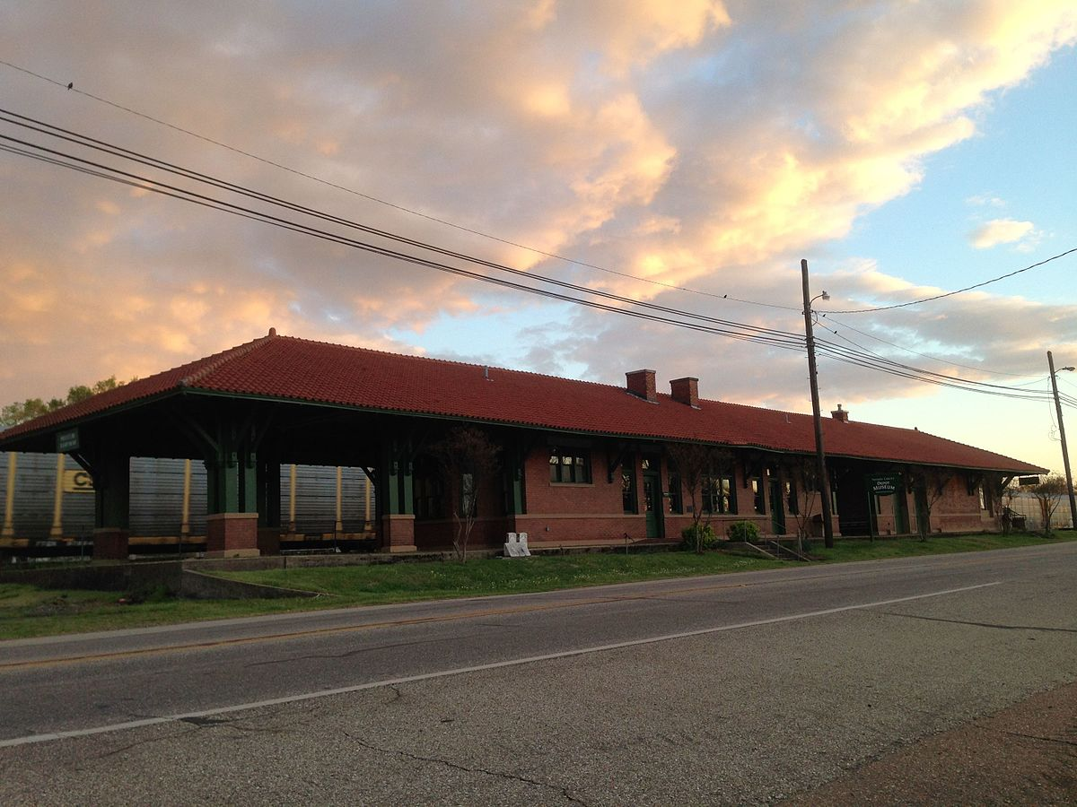Missouri pacific depot prescott arkansas wikipedia for The prescott